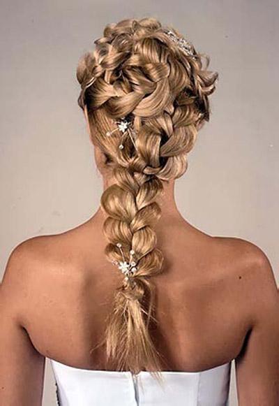 Косы на средние и длинные волосы