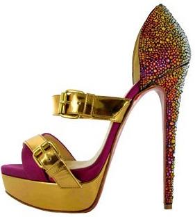 Туфли на высоком каблуке, туфли на шпильках фото