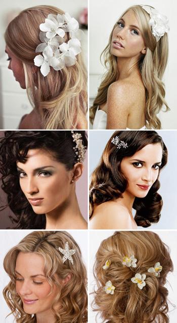 Свадебные прически на длинные и средние волосы