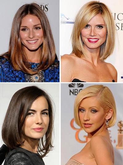 Стрижки на средние волосы 2017 женские без челки ниже плеч