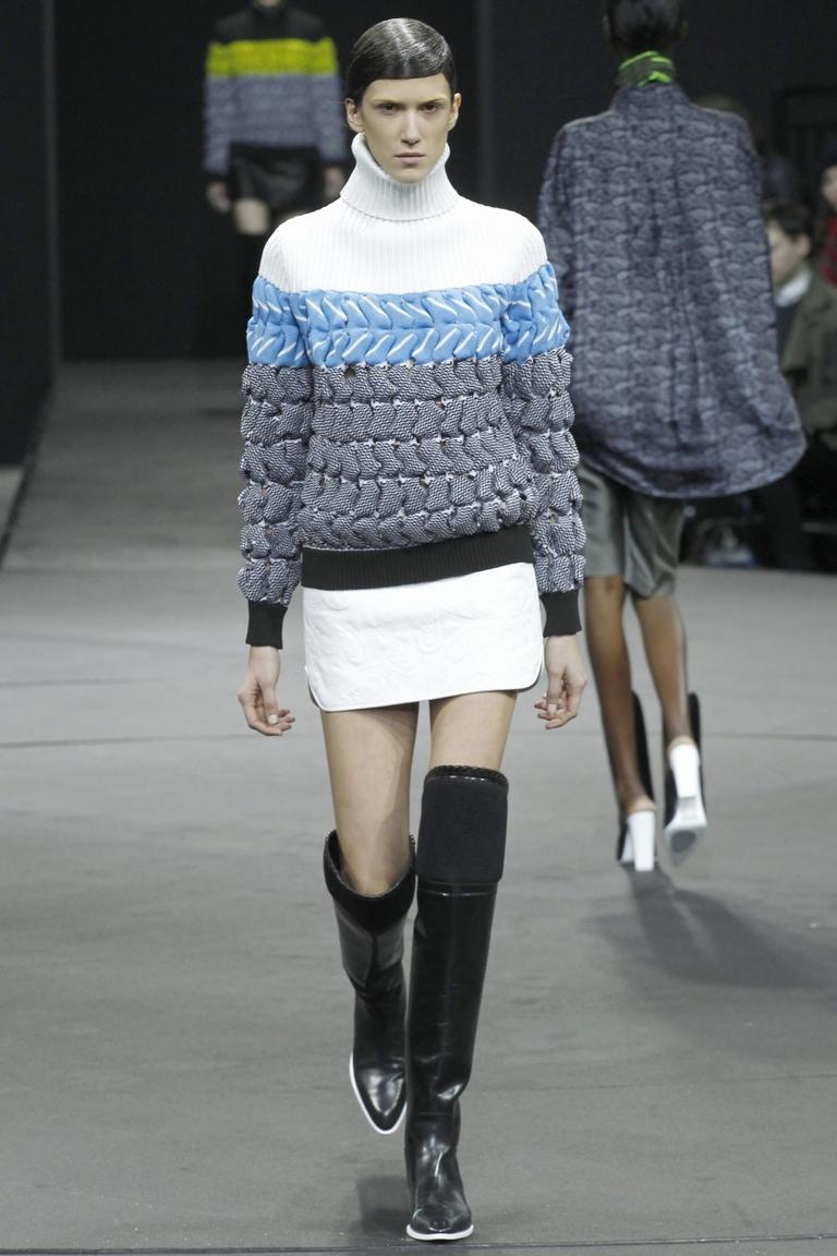 Модная кофта 2015 – модель водолазка – фото новинка от Alexander Wang