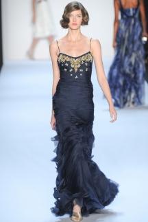 Badgley_Mischka длинное платье