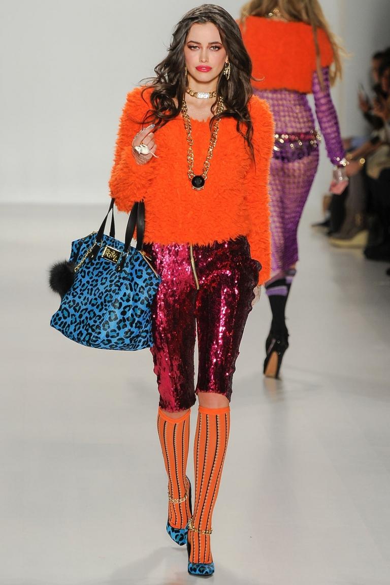 Оранжевая модная кофта 2015 – фото новинка от Betsey Johnson