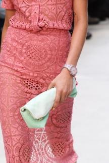 Burberry кружевная мода 2014