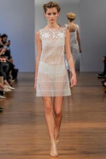 Прозрачное платье с трусиками в стиле ретро - Collette Dinnigan