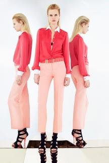 Ярко-розовая рубашка 2014 Emilio Pucci