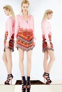 Нежно-розовая модная рубашка 2014 Emilio Pucci
