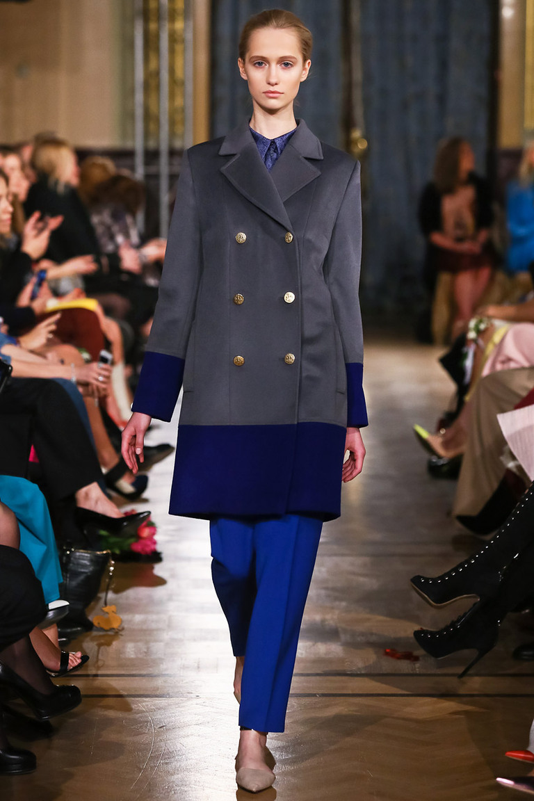 Модное пальто 2015 – A LA RUSSE Anastasia Romantsova