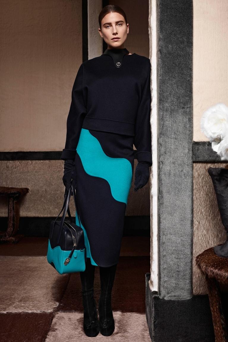 Модная юбка карандаш 2015 – фото новинка в коллекции Agnona