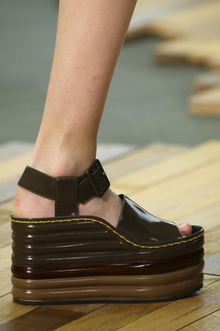 Модные туфли 2015 на платформе – фото новинка сезона в коллекции Céline