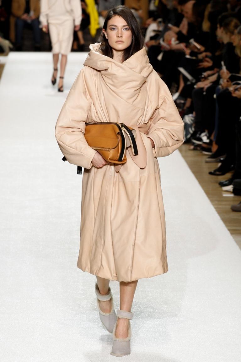 Модное объемное пальто 2015 – Chloé