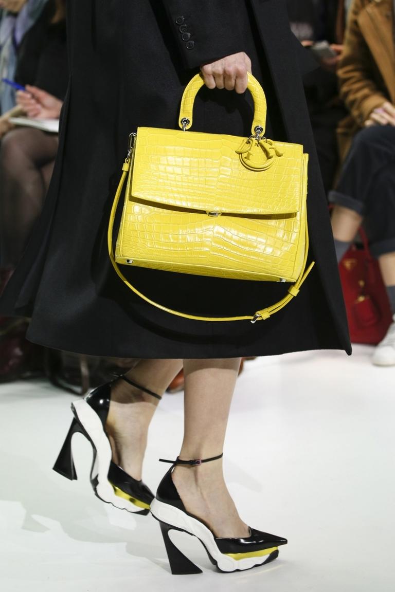 Модные женские туфли 2015 – фото новинка в коллекции Christian Dior