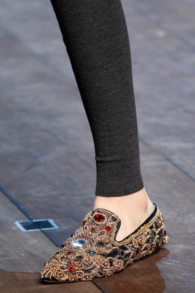 Модные лоферы 2015 – Dolce & Gabbana