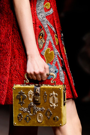 Модная сумка осень-зима 2014-2015 – сумка под старину - Dolce & Gabbana