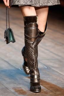Модные сапоги осень-зима 2014-2015 Dolce & Gabbana
