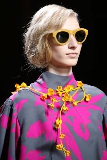 Модные прически 2015 – фото Dries Van Noten