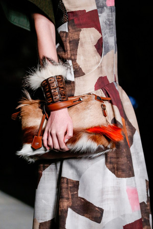 Модная меховая сумка осень-зима 2014-2015 - Fendi