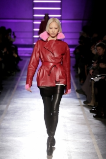 Модная кожаная куртка с мехом осень-зима 2014-2015 – Irfe