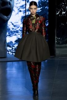 Модная юбка солнце осень-зима 2014-2015 - Kenzo
