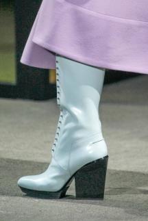 Модные сапоги со шуровкой осень-зима 2014-2015 – Phillip Lim