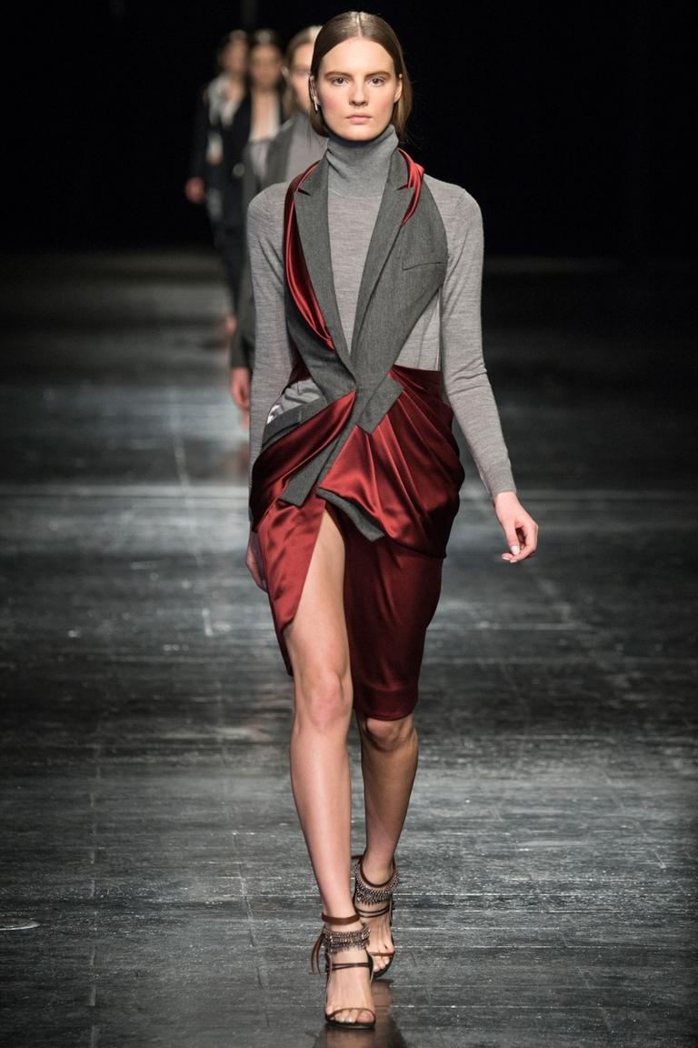 Фото модной юбки 2015 с неровным краем – Prabal Gurung