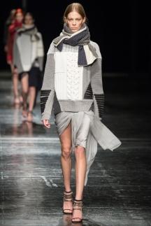 Модная юбка осень-зима 2014-2015 - фото Prabal Gurung
