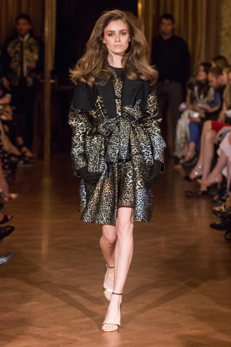 Леопардовая узор в одежде – фото новинка в коллекции Alexander Terekhov
