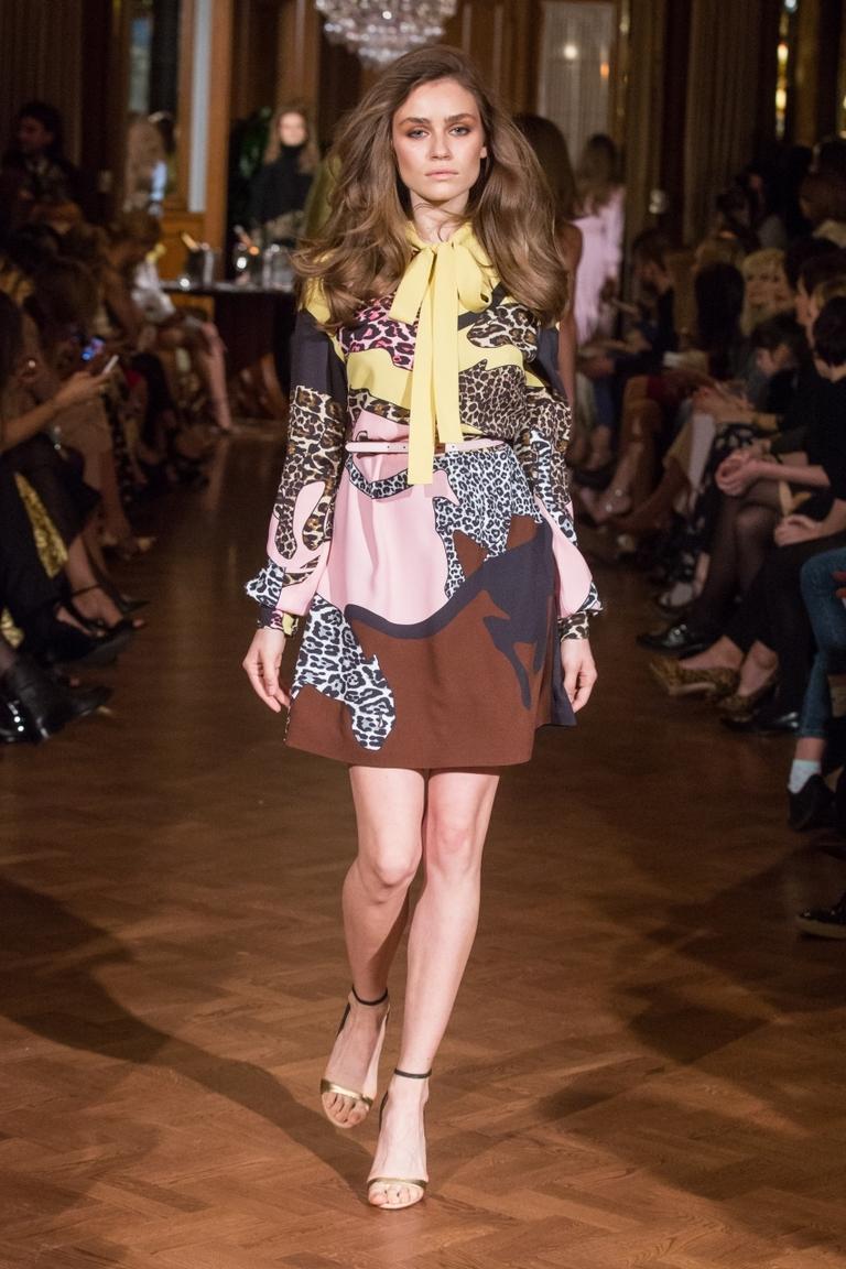 Платье с леопардовым принтом – фото новинки от Alexander Terekhov