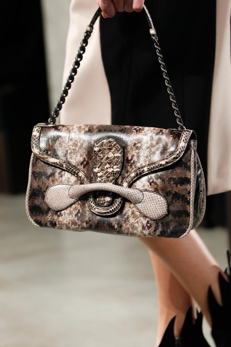 Модная леопардовая сумка – Bottega Veneta