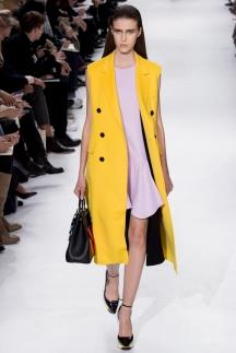 Желтый модный пиджак осень-зима 2014-2015 ОТО – Christian Dior