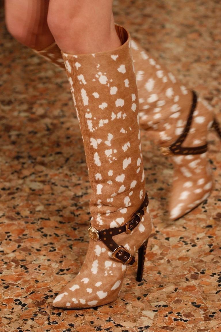 Красивые модные сапоги 2015 фото Emilio Pucci