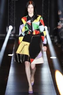 Рубашка модная в сезоне осень-зима 2014-2015 с геометрическим узором – Fausto Puglisi