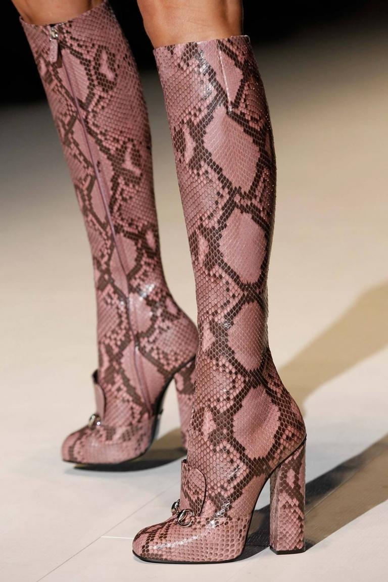 Модные сапоги 2015 Gucci