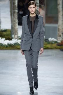 Серый пиджак мода осень-зима 2014-2015 – Hugo Boss