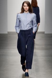 Джинсовая модная рубашка осень-зима 2014-2015 – Karen Walker