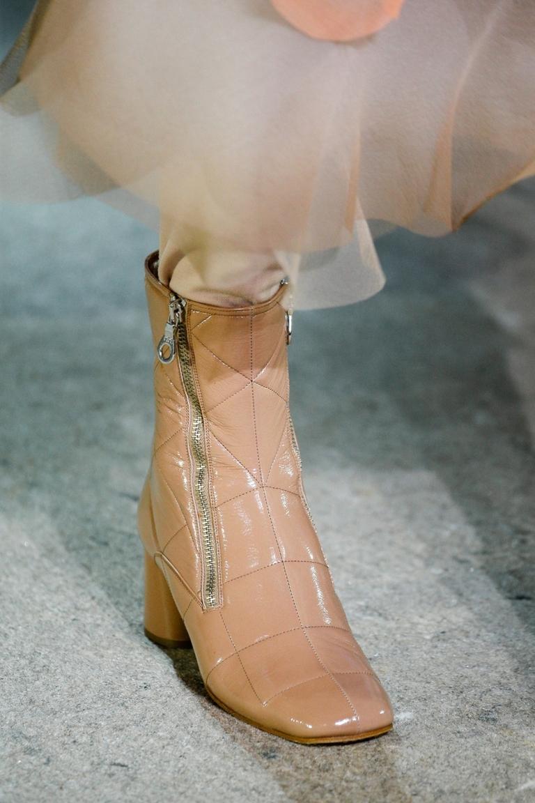 Модные стеганные сапоги 2015 – фото новинка Marc Jacobs