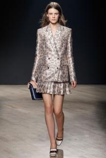Блестящий модный пиджак осень-зима 2014-2015 Mary Katrantzou