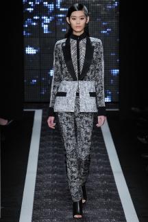 Серый пиджак с брюками осень-зима 2014-2015 – Maxime Simoens