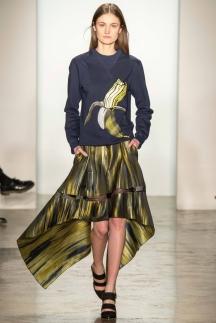 Модная юбка с рваными краями – мода осень-зима 2014-2015 – Ostwald Helgason