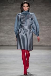 Модная рубашка осень-зима 2014-2015 с рукавом типа «фонарик» - Ruffian