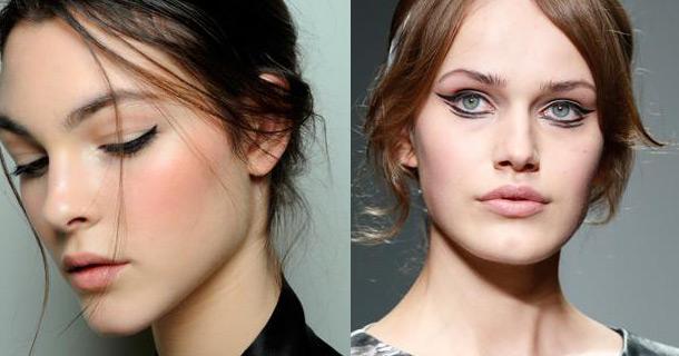 модный макияж осень зима 2014 2015, модный макияж осень зима 2015
