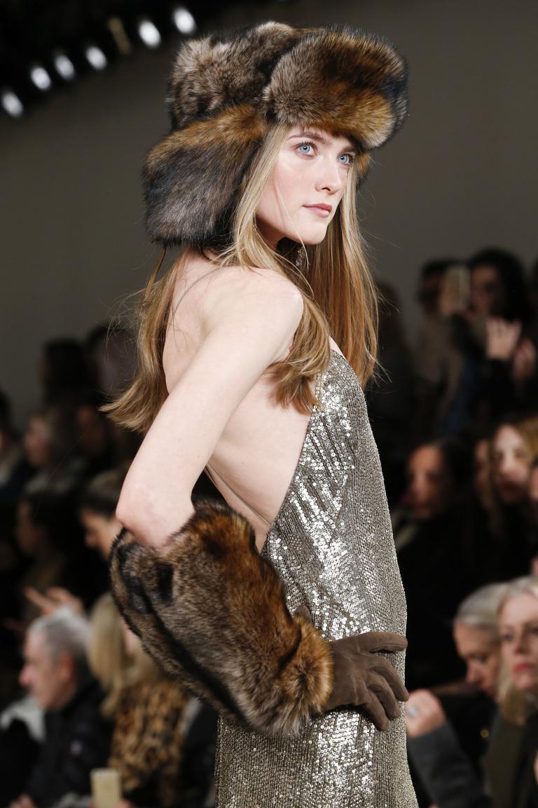 Меховая шапка ушанка – фото новинка в коллекции Ralph Lauren