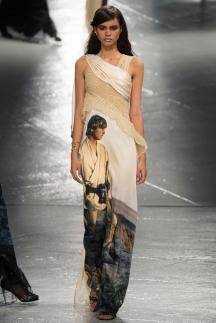 Фото модного платья в пол осень-зима 2014-2015 – Rodarte