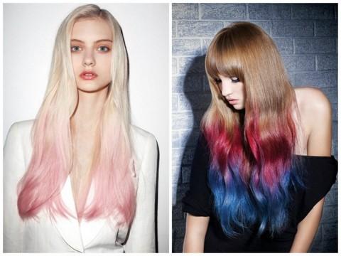 Модный цвет волос осень зима 2014-2015