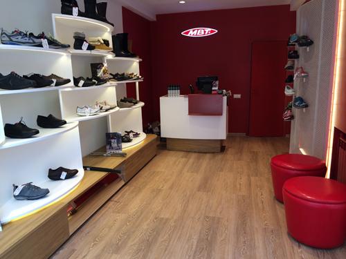 новый фирменный магазин обувной марки MBT