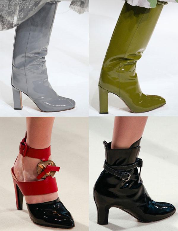 Модная лакированная обувь 2015