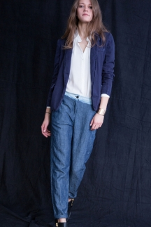 Модные джинсы 2015 свободного кроя – Raquel Allegra