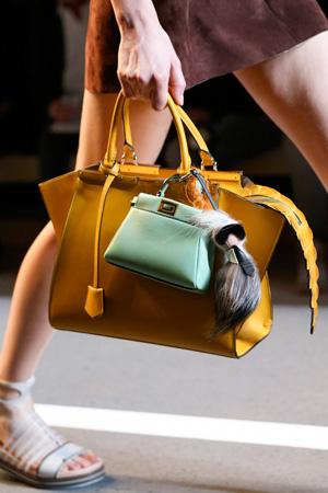 Сразу 2 модные сумки весна-лето 2015 от Fendi
