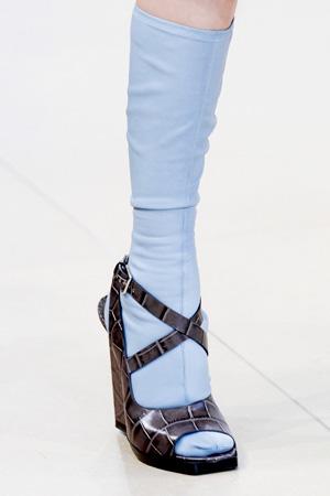 Модные туфли весна лето 2015 Jil Sander + гольфы