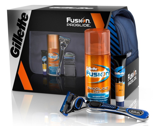 Подарок для настоящего мужчины - набор Gillette Fusion ProGlide